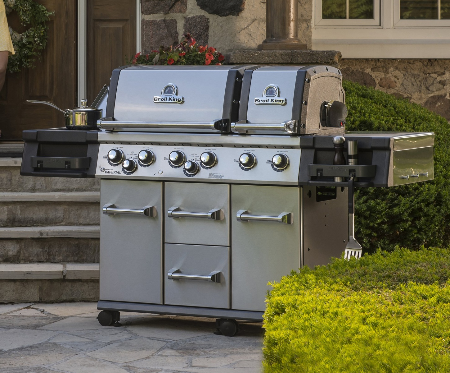BARBECUE PROFESSIONALE IMPERIAL