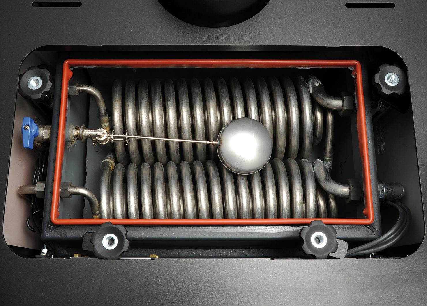 STUFA LEGNA KLOVER HYDRO BELVEDERE 30 25.7 kW