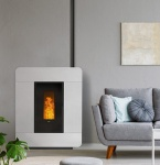 STUFA A PELLET KLOVER DIVA WOOD AIR 8.9 KW