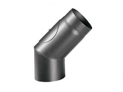 CURVA 45° CON ISPEZIONE - APROS - LINEA LEGNA DIAMETRO 150 mm