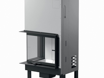 TERMOCAMINO PLASMA 75 WOOD DX/SX 15.5 KW